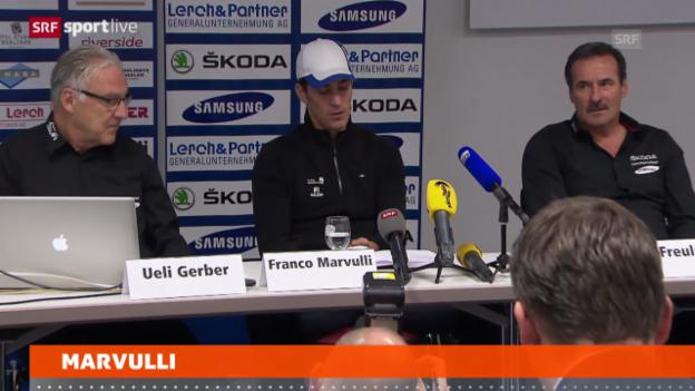 Video «Rad: Franco Marvulli tritt zurück («sportlive»)» abspielen