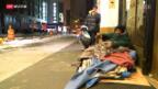 Video «Ein Obdachloser pro 165 Einwohner» abspielen