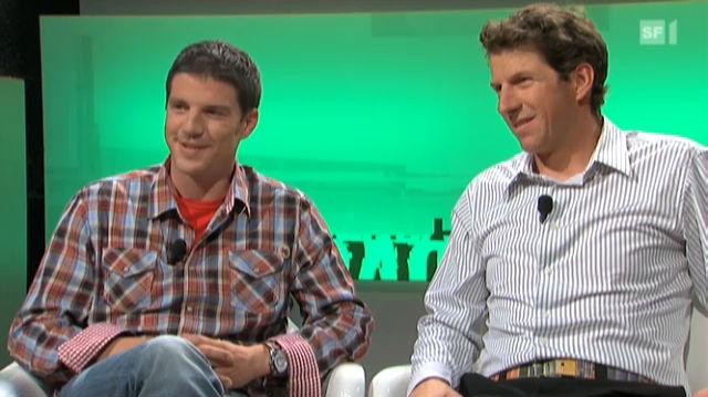 Daniel Aufdenblatten und Richard Lehner