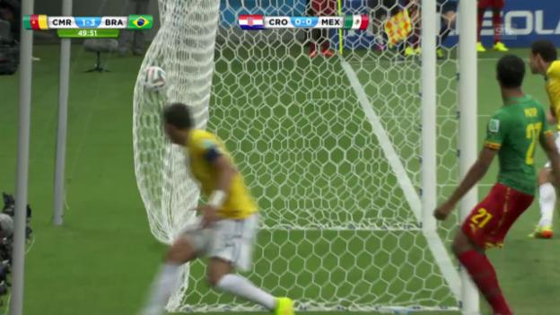 Video «FIFA WM 2014: Brasilien - Kamerun, die Live-Highlights» abspielen