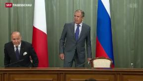 Video «Chemiewaffen: Für Russland bleibt Schuldfrage offen» abspielen