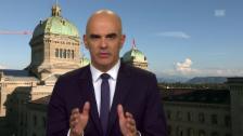 Video «Alain Berset appelliert an die Kompromissbereitschaft» abspielen