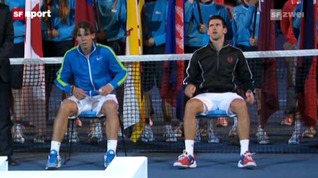 Heroisch: Djokovic ringt Nadal nieder