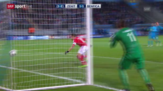 Video «1:1 fü Benfica» abspielen