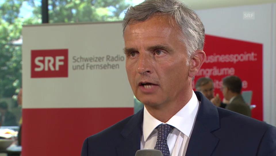 Reto Lipp im Gespräch mit Didier Burkhalter