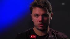 Video «Wawrinka: «Bin glücklich, weiter zu sein»» abspielen