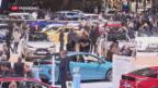 Video «Autosalon Genf: gefragt sind PS-Boliden» abspielen