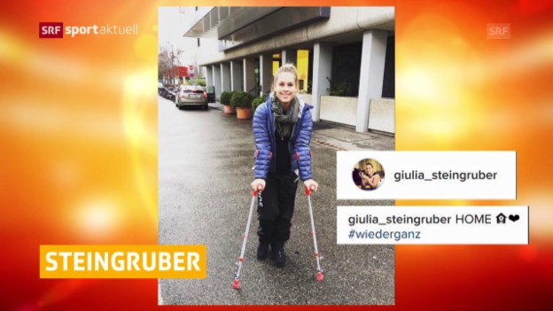 Video «Steingruber erfolgreich operiert» abspielen