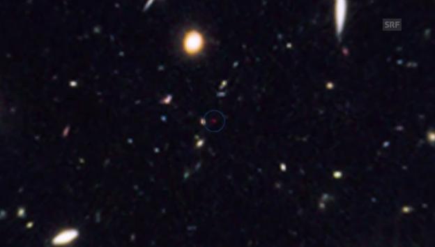 Video «Reise zur fernsten Galaxie (unkommentiert)» abspielen