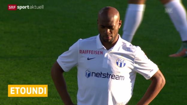Video «Fussball: Super League 2015/16, Franck Etoundi kehrt zum FCZ zurück» abspielen