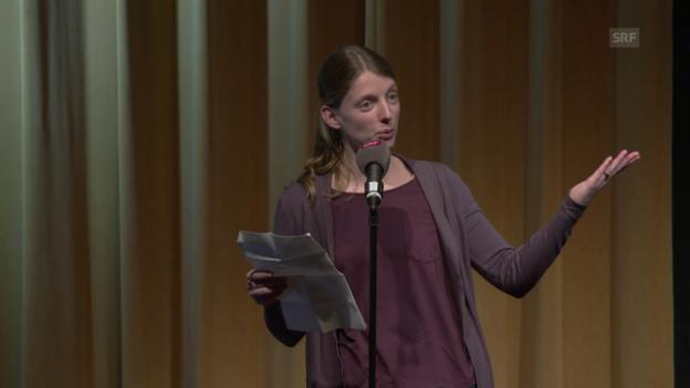Video «Lillemor Kausch verarbeitet ihre Hochzeit» abspielen