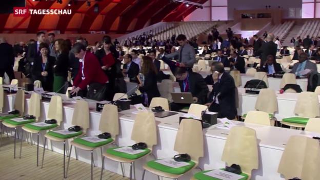 Video «UNO-Klimagipfel in der entscheidenden Phase» abspielen