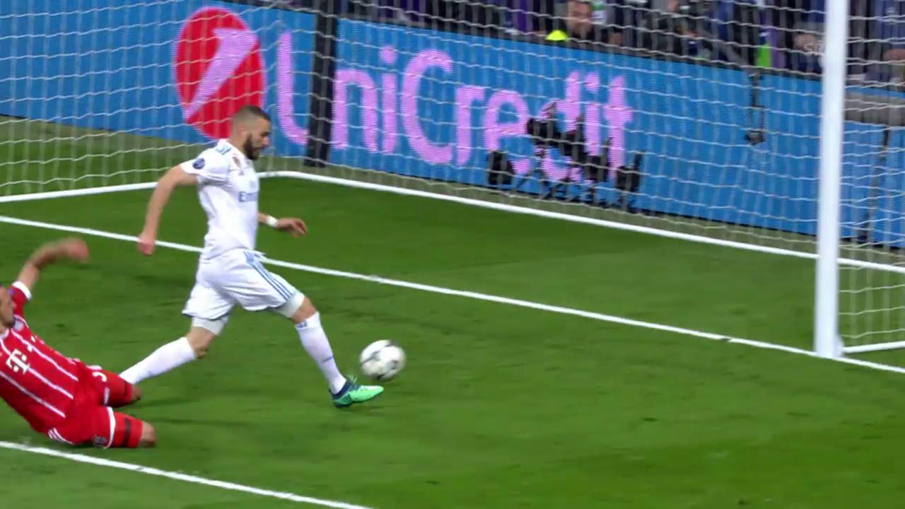 Real schaltet die Bayern im Halbfinal aus