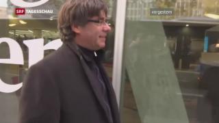 Video «Spanien erlässt Haftbefehl gegen Puigdemont» abspielen