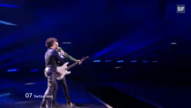 Video «Eurovision-Halbfinal 2012: Auftritt von Sinplus» abspielen
