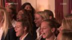 Video «Die Frauen-Nati singt den EM-Song ein» abspielen