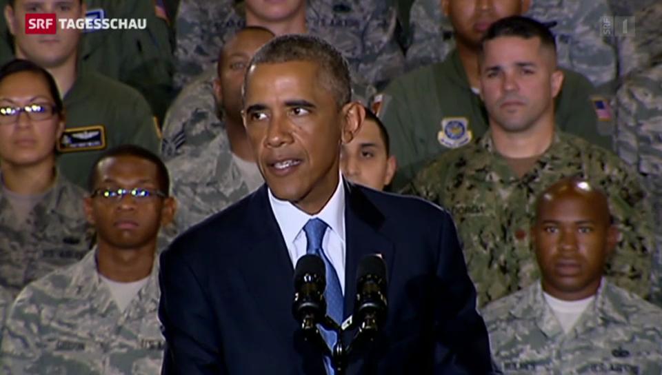 Obama will keine Bodentruppen im Irak