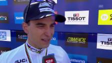 Video «MTB: Interview mit Weltmeister Nino Schurter» abspielen