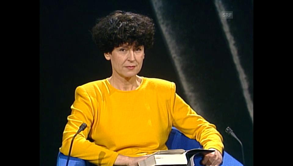 «Literaturclub» mit Gunhild Kübler