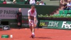 Video «Tennis: French Open, Wawrinka-Ilhan» abspielen