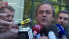 Video «Platini tritt als Uefa-Präsident zurück» abspielen