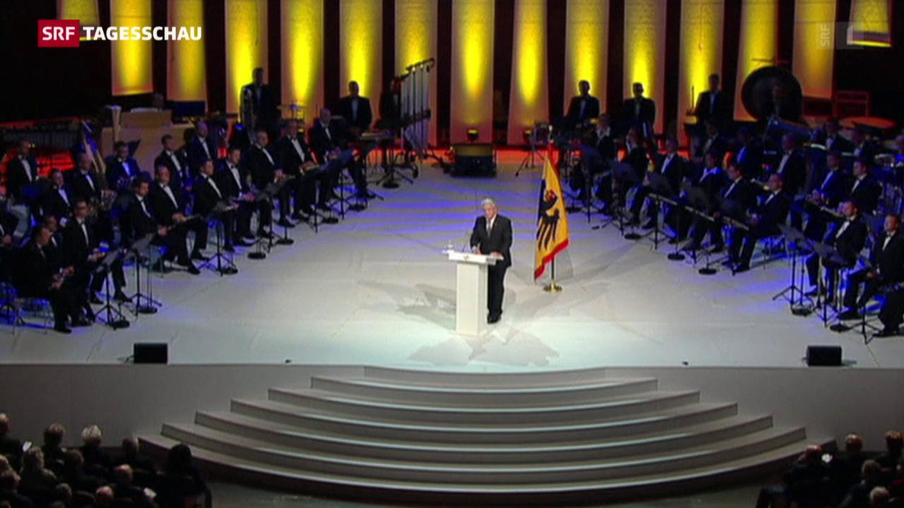 Deutschland feiert 25 Jahre Einheit