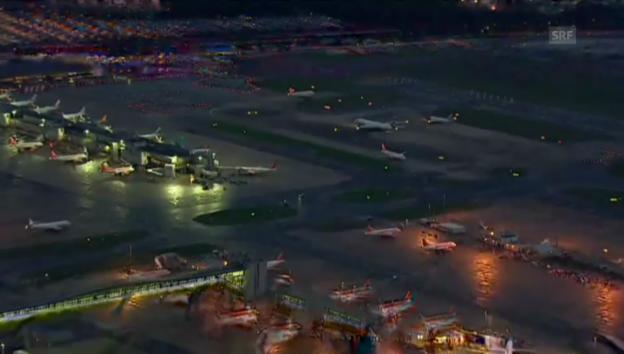 Video «Stillstand am Flughafen Heathrow» abspielen