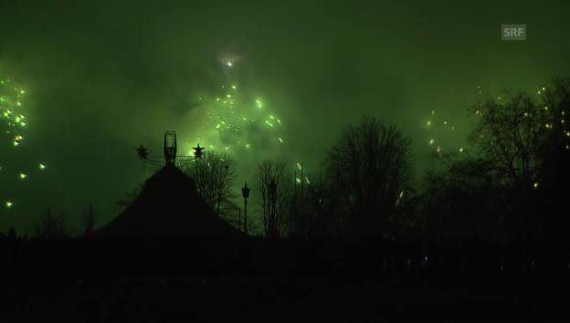 Video «Silvester in Zürich (Tagesschau, 01.01.2016)» abspielen