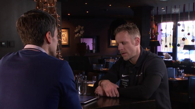 Video «Eishockey: Spengler Cup, Gespräch mit Reto von Arx» abspielen