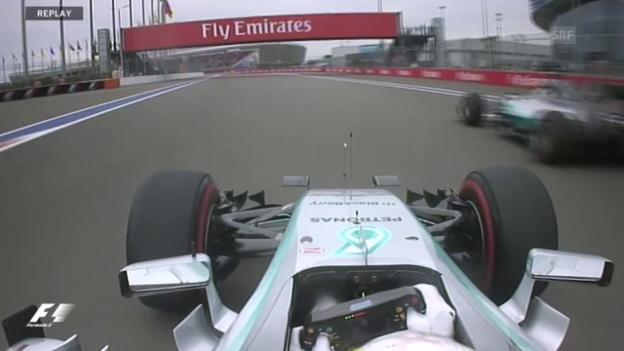 Video «Formel 1: GP Russland, Highlights» abspielen