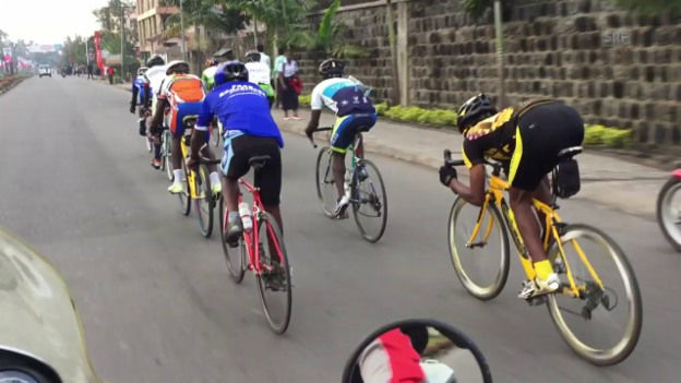 Video «Velotraining in Goma» abspielen