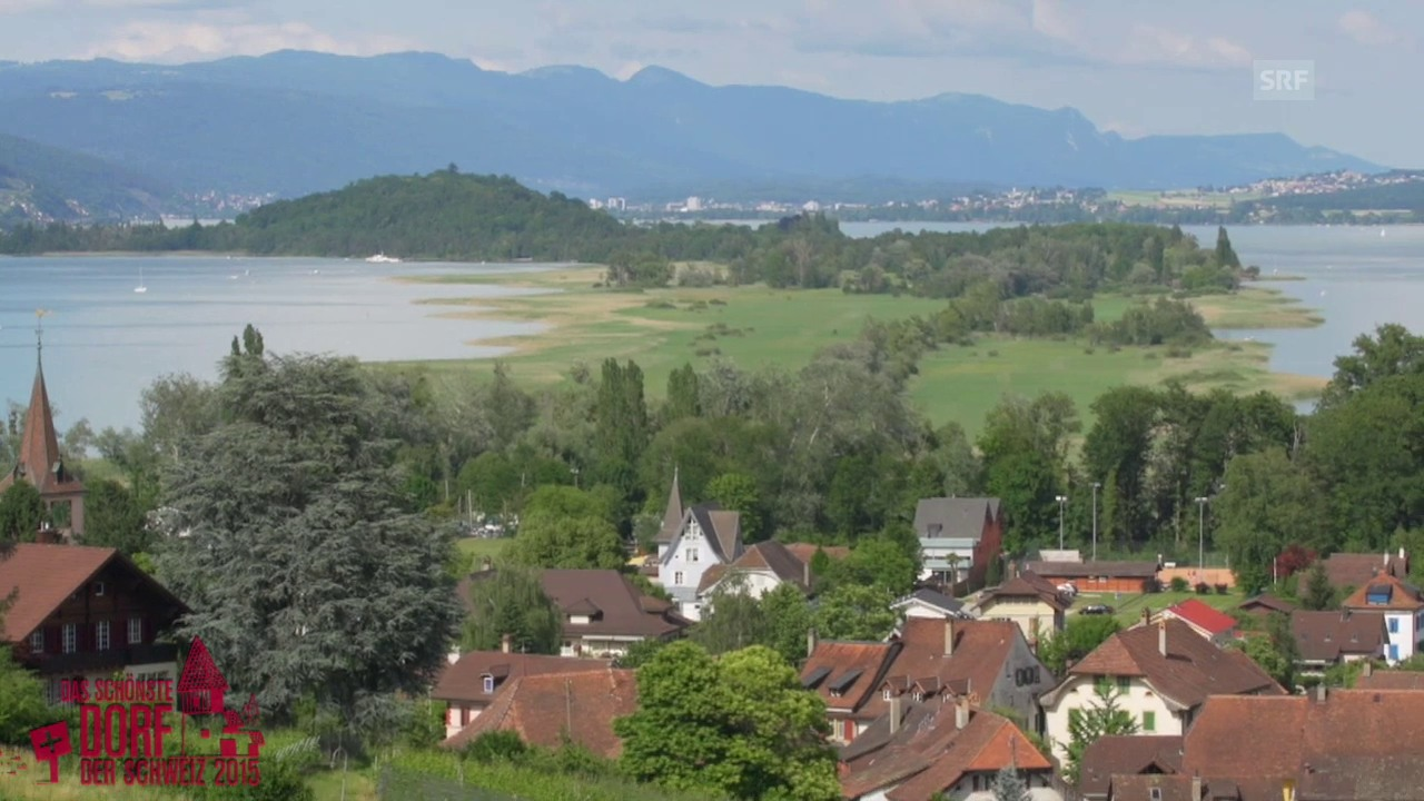 Wird Erlach das schönste Dorf der Schweiz 2015?