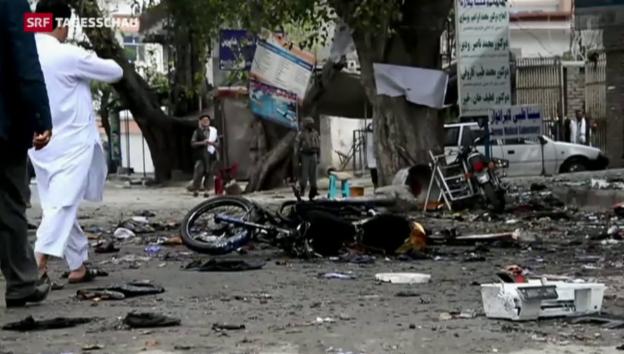 Video «Blutiger Selbstmordanschlag in Afghanistan» abspielen