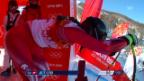 Video «Ski Alpin: Super-G Sotschi, Fahrt von Suter (sotschi direkt, 15.02.2014)» abspielen