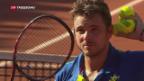 Video «Wawrinka steht in Genf im Final» abspielen