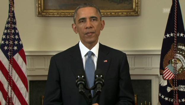 Video «Obama spricht von einer neuen Kubapolitik» abspielen