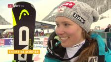 Video «Das Interview mit der Siegerin» abspielen