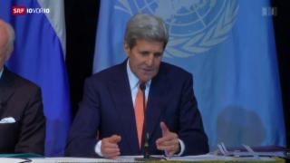 Video «Leiser Optimismus an der Syrien-Konferenz» abspielen