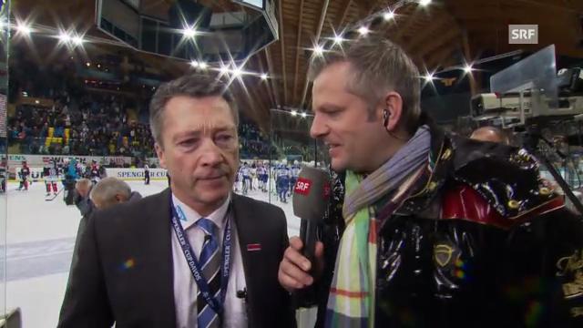 Spengler Cup: Harold Kreis im Interview