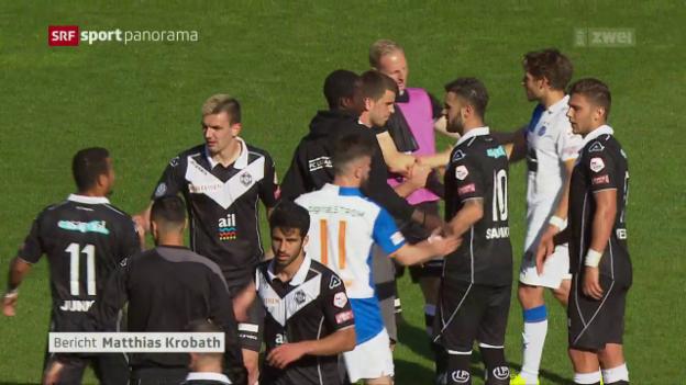 Video «Lugano schlägt auch GC» abspielen