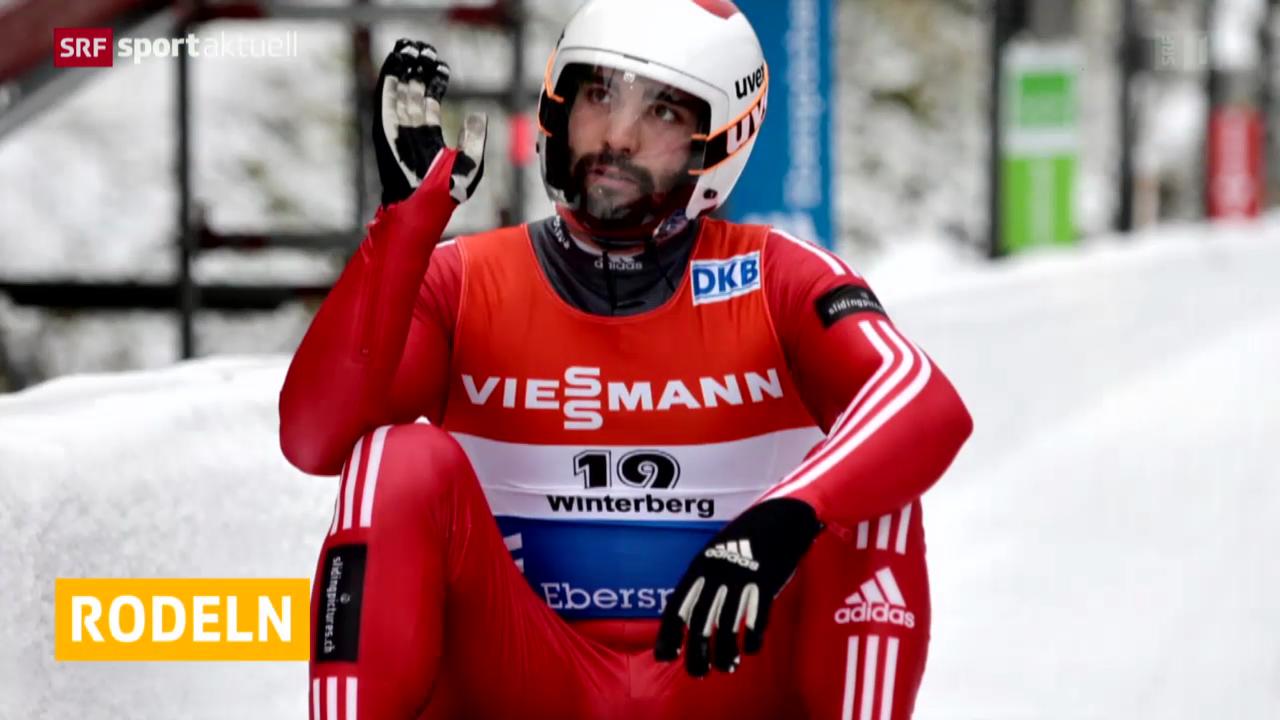 Rodeln: Weltcup in Winterberg