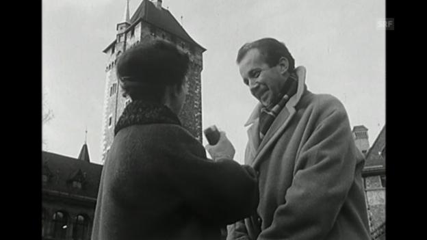 Video «Neujahrswünsche (Freitagsmagazin, 31.12.1960)» abspielen
