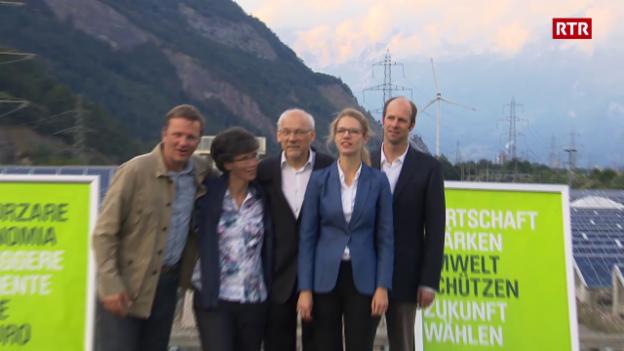 Laschar ir video «Partida verd-liberala Grischun»