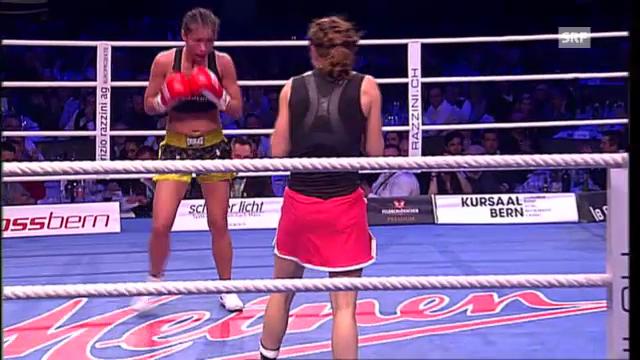 Boxen: Punktsieg für Aniya Seki in Bern