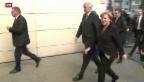 Video «Koalitions-Verhandlungen in Deutschland in entscheidender Runde» abspielen