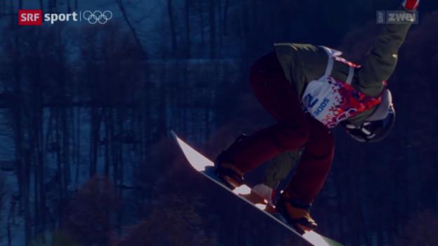 Video «Snowboard: Qualifikation Slopestyle» abspielen
