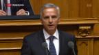 Video «Letzter Auftritt von Bundesrat Burkhalter» abspielen