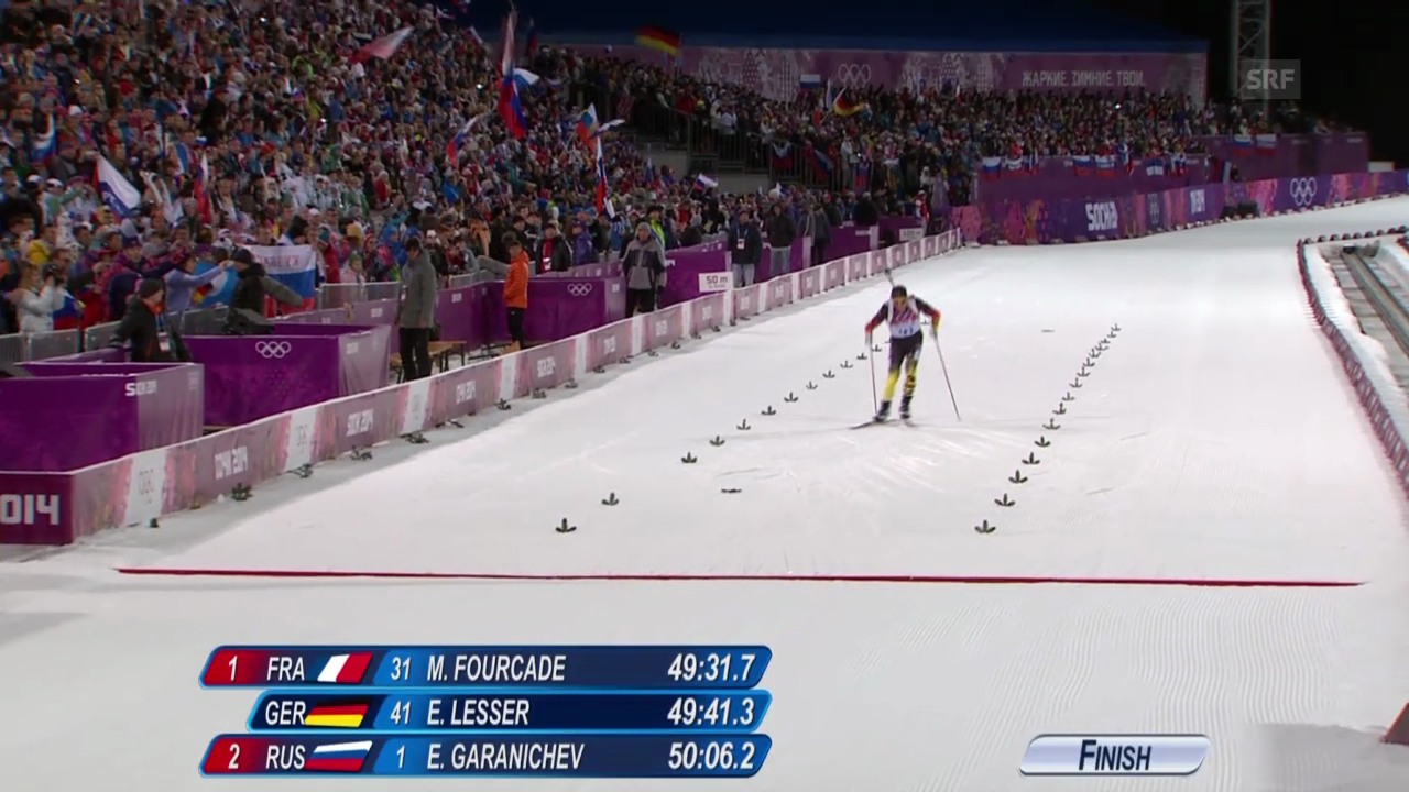 Biathlon: Zusammenfassung 20 km Männer (sotschi direkt, 13.02.2014)