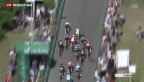 Video «Mark Cavendish gewinnt vierte TdS-Etappe» abspielen