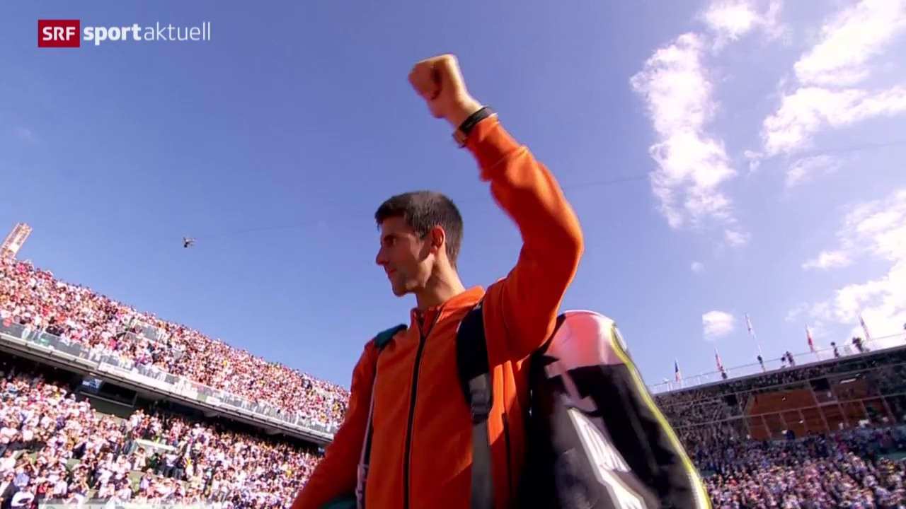 Tennis: French Open, Viertelfinal Nadal - Djokovic